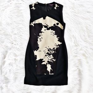 Rachel Roy cowhide print sheath dress